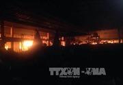 Dập tắt vụ cháy tại chợ Dịch Vọng, Hà Nội