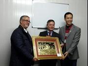 Đại sứ quán Việt Nam tại Lào và Algeria chúc Tết bà con và cán bộ dầu khí