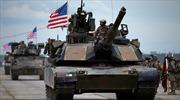 Xe tăng, bộ binh Mỹ rầm rộ tập kết tại Estonia