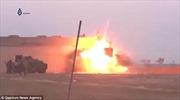 Video chiến binh IS tan xác vì nổ bom tự sát trượt tại Syria