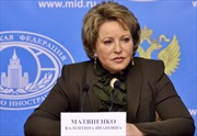 Chủ tịch Hội đồng Liên bang Nga thăm chính thức Việt Nam