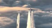Kịch tính cảnh không quân Đức chặn máy bay Boeing chở 330 khách