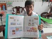 Lão nông với ước mơ đưa tem Hoàng Sa, Trường Sa ra thế giới