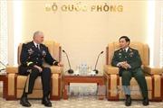 Trung tướng Phan Văn Giang tiếp Tư lệnh Lục quân Thái Bình Dương Hoa Kỳ