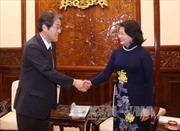 Phó Chủ tịch nước Đặng Thị Ngọc Thịnh tiếp Đại sứ Nhật Bản
