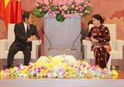 Chủ tịch Quốc hội Nguyễn Thị Kim Ngân tiếp Đại sứ Nhật Bản và Đại sứ Thái Lan