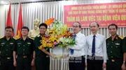 Đồng chí Nguyễn Thiện Nhân thăm, chúc mừng cán bộ, nhân viên y tế TP Hồ Chí Minh