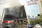 Cháy khách sạn Trung Quốc, 10 người thiệt mạng