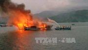 Ba tàu cá tiền tỷ tại Thanh Hóa bị 'bà hỏa' thiêu rụi