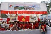Phở, nem rám Việt Nam hút khách tại hội chợ từ thiện Ấn Độ