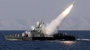 Iran tập trận hải quân với dàn tên lửa phiên bản mới
