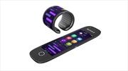 Độc đáo điện thoại có thể uốn thành đồng hồ đeo tay