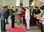 Nhà vua và Hoàng hậu Nhật Bản gặp mặt các nhân viên tình nguyện của JICA tại Việt Nam