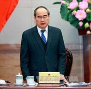Đồng chí Nguyễn Thiện Nhân làm việc với Hội Cựu chiến binh Việt Nam