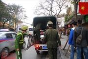Hình ảnh Hà Nội ngày đầu ra quân xử lý vi phạm vỉa hè