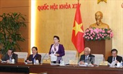 Khai mạc Phiên họp thứ 8, Ủy ban Thường vụ Quốc hội khóa XIV
