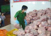Tiêu hủy hơn 4,2 tấn thịt lợn không đảm bảo an toàn vệ sinh thực phẩm