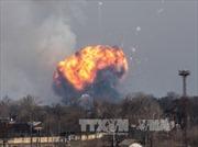 """Ukraine nghi ngờ """"có bàn tay"""" của Nga trong vụ nổ kho đạn"""