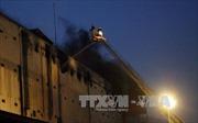 Bất ngờ cháy dữ dội trở lại tại Công ty Kwong Lung - Meko, cứu hỏa thâu đêm
