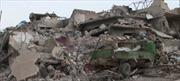 Không kích dồn dập xuống Mosul, hơn 130 người bị chôn sống