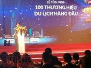 Tôn vinh 100 thương hiệu du lịch hàng đầu TP Hồ Chí Minh
