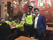 Cảnh sát London được ăn uống miễn phí ngày xảy ra khủng bố