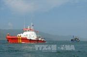 Cứu hộ và lai dắt tàu cá hỏng máy về cảng an toàn