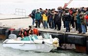 Tìm thấy di hài nghi là nạn nhân phà chìm Sewol
