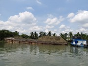 Dừng tất cả các dự án nạo vét thông luồng và khai thác cát trên sông Đồng Nai