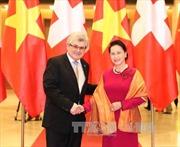 Chủ tịch Quốc hội hội đàm với Chủ tịch Hội đồng Nhà nước Thụy Sỹ