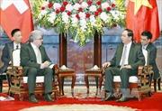 Việt Nam coi trọng  việc củng cố và phát triển quan hệ với Thụy Sĩ