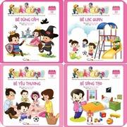 """""""Tuần của bé"""" - bộ sách tổng hợp đầu tiên cho bé 3-6 tuổi"""
