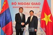 Phó Thủ tướng, Bộ trưởng Ngoại giao Phạm Bình Minh hội đàm với Bộ trưởng Ngoại giao Mông Cổ