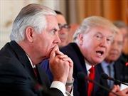 Ngoại trưởng Mỹ Rex Tillerson ra 'tối hậu thư', Nga bình thản đáp trả