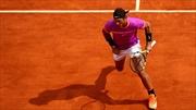 """""""Vua đất nện"""" Rafael Nadal lần thứ 10 vào chung kết Monte Carlo"""