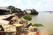 Khắc phục sạt lở bờ sông Vàm Nao, An Giang