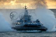 Nga thử nghiệm tàu đổ bộ đệm khí lớn nhất thế giới khi ông Putin tới thăm