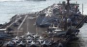 USS Carl Vinson đã vào vị trí có thể vươn tầm bắn tới Triều Tiên