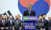 Bầu cử Tổng thống Hàn Quốc: Ông Moon Jae-in duy dẫn đầu thăm dò