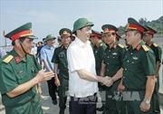 Chủ tịch nước thăm cán bộ, chiến sĩ Lực lượng vũ trang Nghệ An
