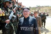 Vừa phóng thử tên lửa thành công, ông Kim Jong-un phấn khởi lệnh sản xuất hàng loạt