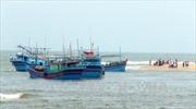Bình Định: Khẩn trương tìm kiếm, cứu hộ tàu cá bị trôi dạt trên biển