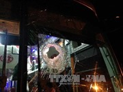 Tạm giữ 3 thiếu niên ném đá xe khách trong đêm tại Buôn Ma Thuột