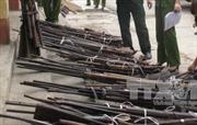 Lâm Đồng: Bắt quả tang 2 đối tượng sản xuất, sử dụng súng tự chế