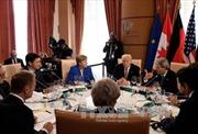 Hội nghị thượng đỉnh G7: Lãnh đạo các nước ra tuyên bố chung về các vấn đề của thế giới