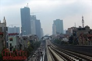 Bộ Giao thông vận tải phản hồi việc ray đường sắt Cát Linh-Hà Đông bị gỉ sét