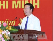 Trưởng Ban Tuyên giáo Trung ương gặp mặt Trưởng cơ quan đại điện Việt Nam ở nước ngoài