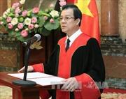 Nghị quyết phê chuẩn đề nghị của Chánh án TAND tối cao về việc bổ nhiệm Thẩm phán TAND tối cao