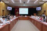 Hội nghị giao ban công tác dân vận 6 tháng đầu năm