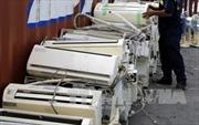 Vận chuyển máy lạnh nhập lậu, nam thanh niên bị phạt 125 triệu đồng
